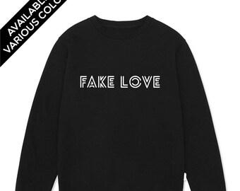 cd0cc85f6c26 BTS Fake Love Sweatshirt