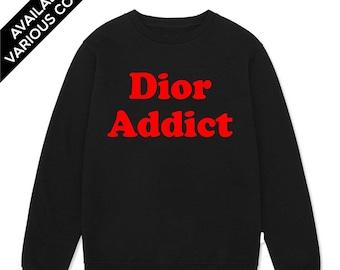 Dior Addict Sweatshirt   Kendall Jenner Sweatshirt   Dior Sweatshirt b77a7fb5d0c