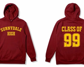 Sunnydale High Class Of 99 Hoodie