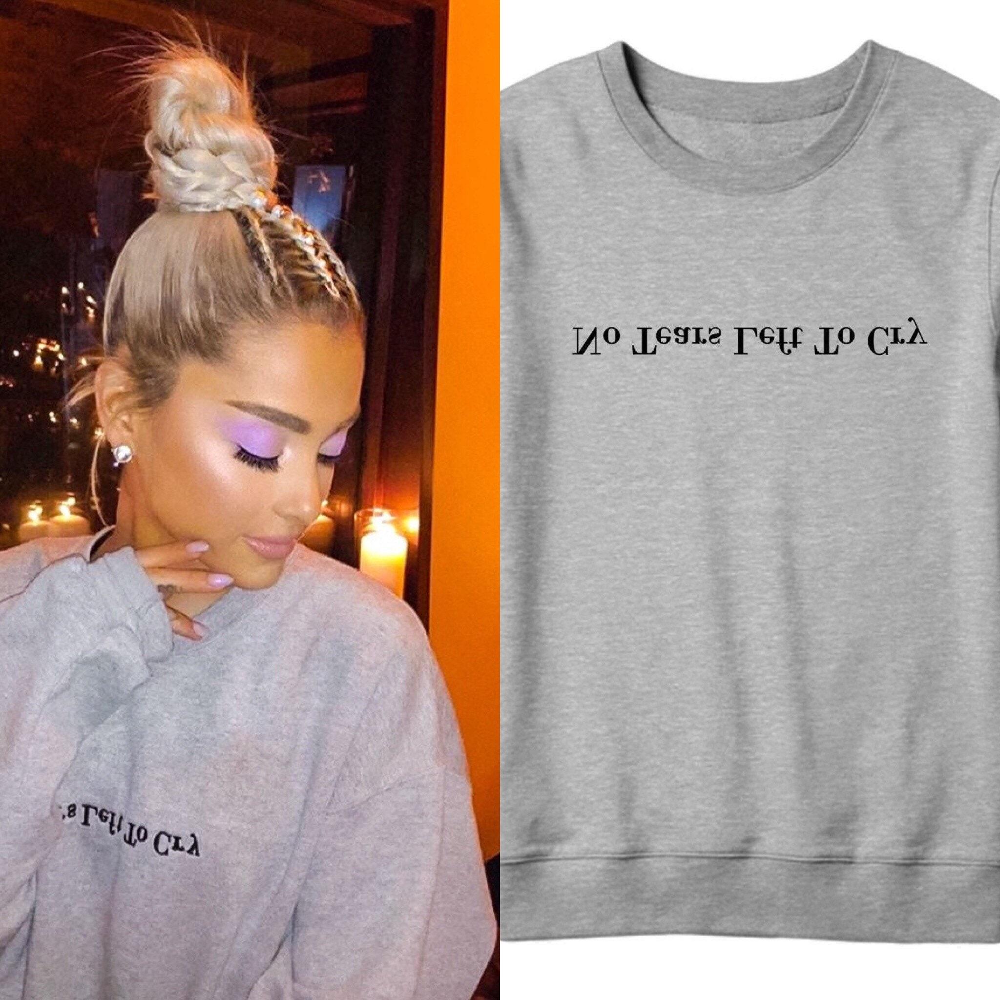 Kein Riss Links zu weinen Ariana Grande Sweatshirt   Etsy