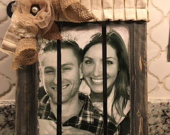 Palette photo transfer wood picture