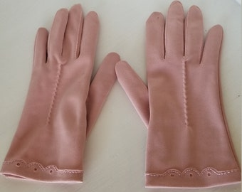 Pale Pink Vintage Gloves