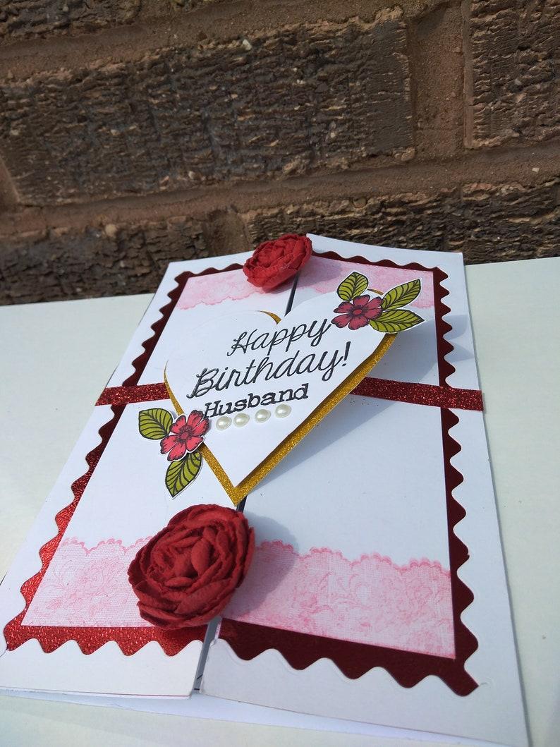 luxury handmade birthday card personalised greeting card