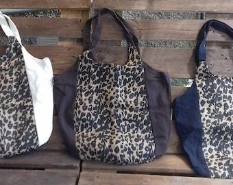 Beautiful jute bags, large capacity