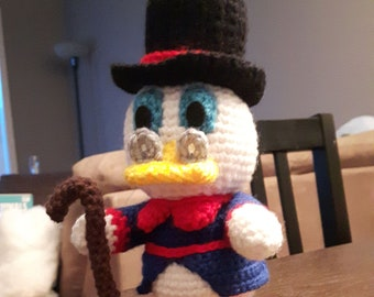 Amigurumi Scrooge McDuck Pattern