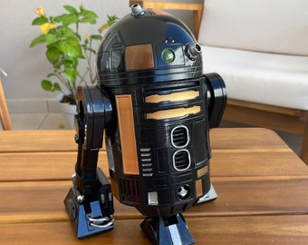 R2 Q5 Printed and Hand Painted
