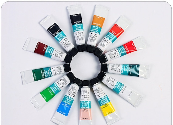 Acrylic Paint 10ml Tubes 24 Colors Painting Supplies
