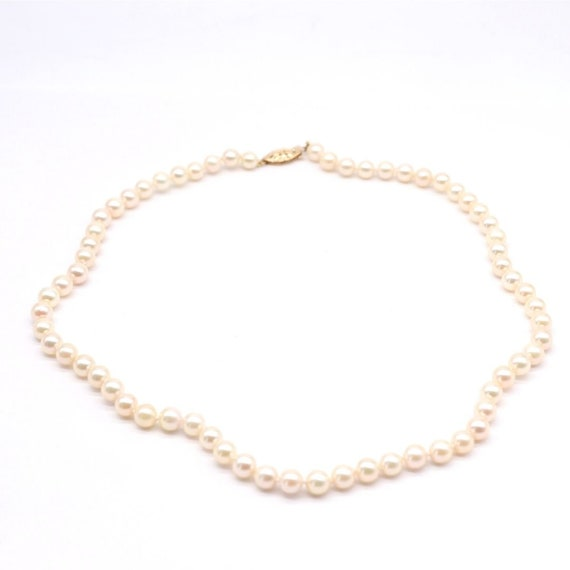 Estate Akoya Pearl Necklace
