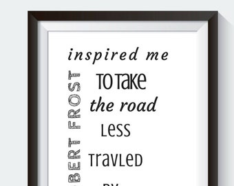 Inspirational motivational Quote Prints
