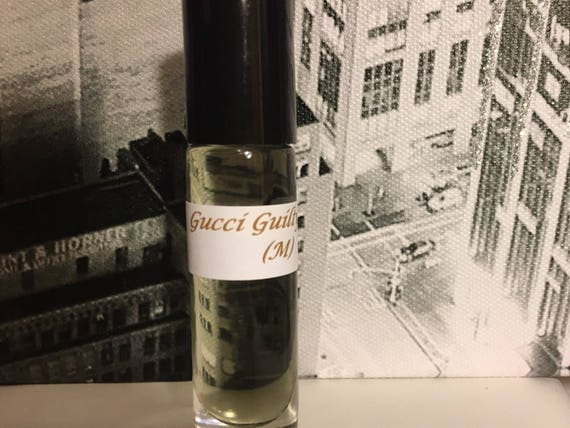1d031f98a Gucci Guilty type Mens Fragrance Oil Roll on Body Oil | Etsy