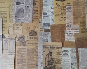 Antique Book Pages
