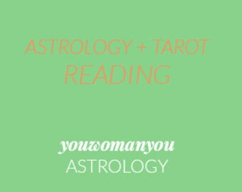 Astrology + Tarot Reading