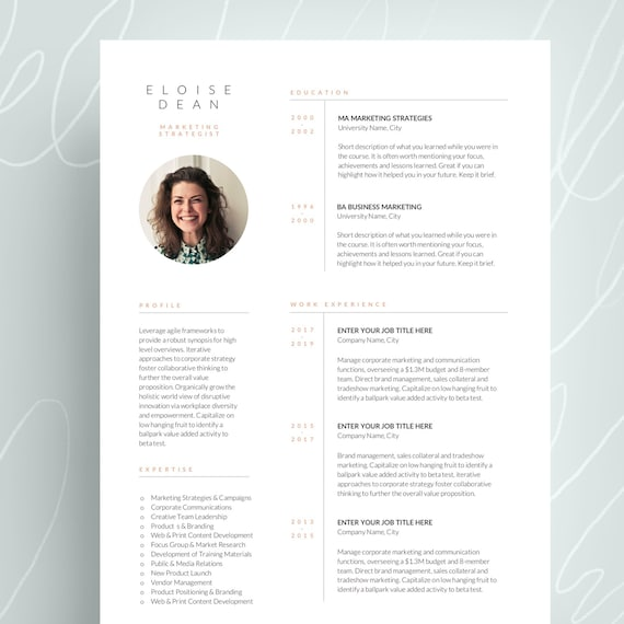 Free Resume Templates Microsoft Freeresumetemplates 6