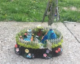 Fairy houses! Garden love !!