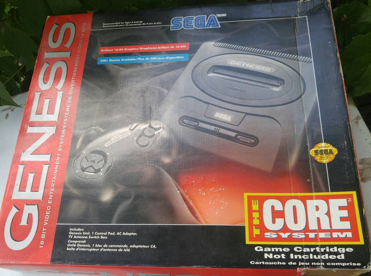 SEGA GENESIS 2 video game console