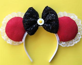 Classic Minnie Ear | Minnie Mouse Ears | Mickey Ears | Minnie Ears | Disney World Ears | Polka Dot Ears | Rock the Dots Ears | Minnie Mouse