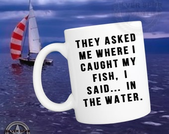 Fisherman Mug Gift For Father's Day Funny Fishing Gifts For Men Fun Fisherman Gifts