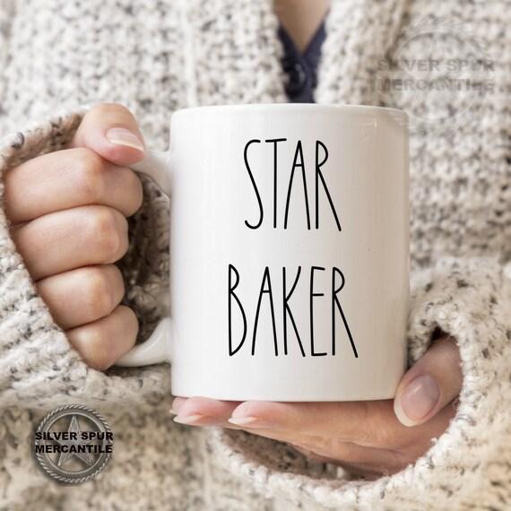 Star Baker Mug Christmas Baking Mug Baker's Gift Show