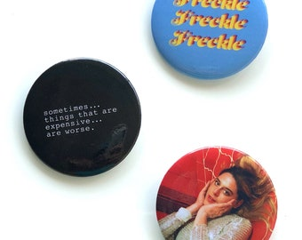 Freckle Buttons 3-Pack