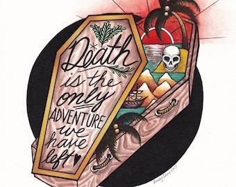 Death Adventure PRINT