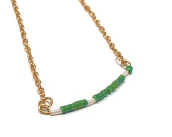 Tinkerbell ~ Peter Pan Disney Inspired Morse Code Necklace