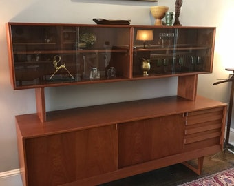 Danish Credenza For Sale : Mid century danish made dyrland teak sideboard credenza u erfmann