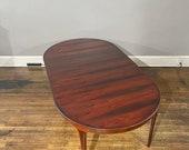 Ib Kofod-Larsen Stunning Danish Rosewood Dining Table