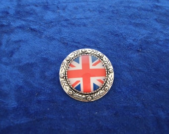 Union Jack Flag Tie Clip in Gift Pouch FREE UK Postage
