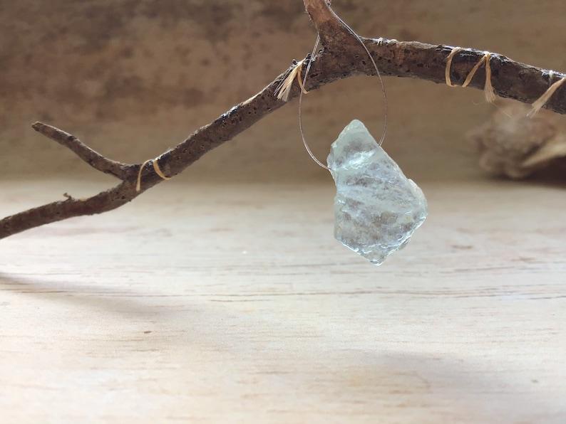 natural aquamarine crystal AC11
