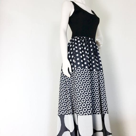 Vintage Rudi Gernreich - Robe Maxi Dress - Patchwo