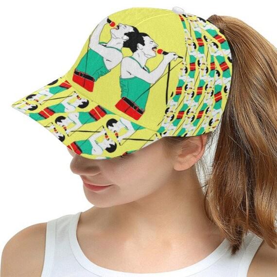 5fb8916ec FREDDIE mercury QUEEN baseball hat