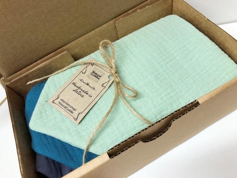Unisex colors Baby boy Baby girl Bandana bibs Double gauze /& waterproof terry BANDANA BIBS Scandinavian style Premium quality Cotton