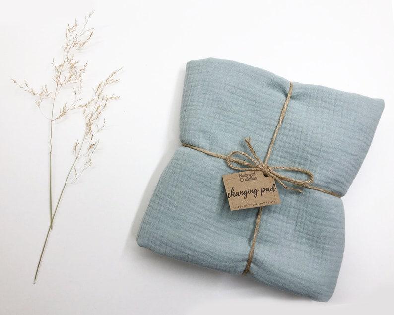 Size 22.5x22.5\u201d Baby changing pad Baby nursery pad Newborn gift Soft /& Waterproof change mat Premium quality Change pad Diaper change mat