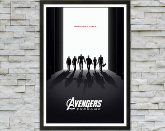 Avengers Marvel poster Iron Man Thor Hulk Hawkeye Natasha Romanoff Black Widow Captain America interior decoration wall art original gift