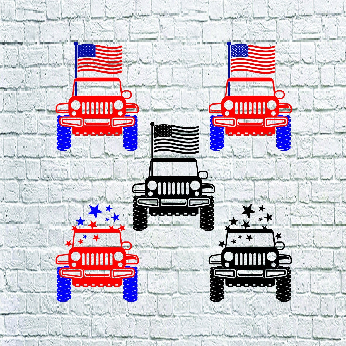Buy 3 Get 1 Free America Jeep Svg Usa Jeep Svg 4th Of July Etsy