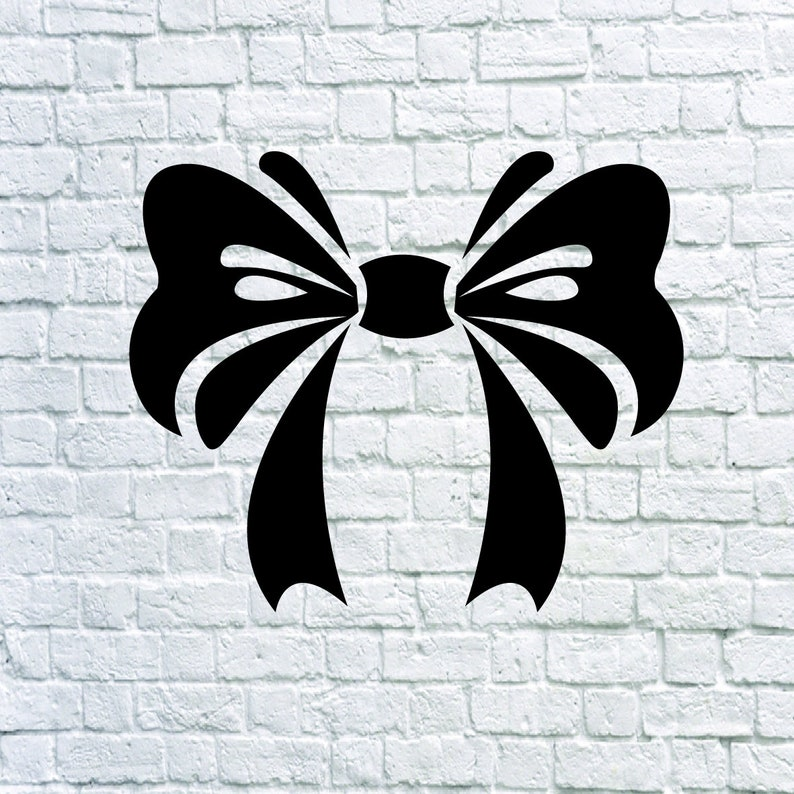 Buy 3 Get 1 Free 38 Bow Svg Bow Vector Bow Tie Stencil Etsy