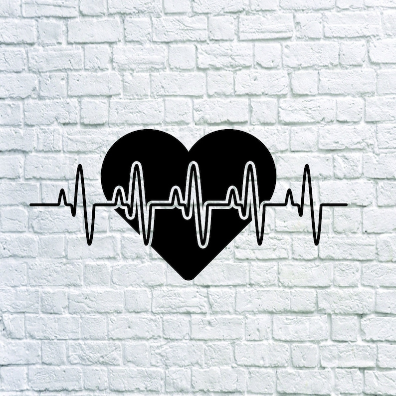 Buy 3 Get 1 Free 63 Heartbeat Svg Heartbeat Pulse Svg Etsy