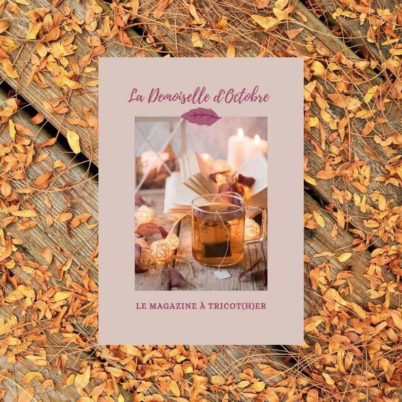 Magazine Tricot La Demoiselle d'October  Paper Version image 0