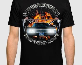 Supernatural 'Wayward Sons' T-shirt, Men's Women's All Sizes