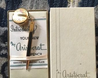 Genuine PAT Aristocrat Pencil Brooch