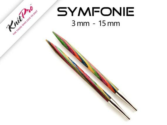 KnitPro SYMFONIE Interchangeable Circular Knitting Needles Knit Pro Dif. Sizes