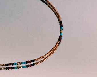 Beaded Necklace - Callie