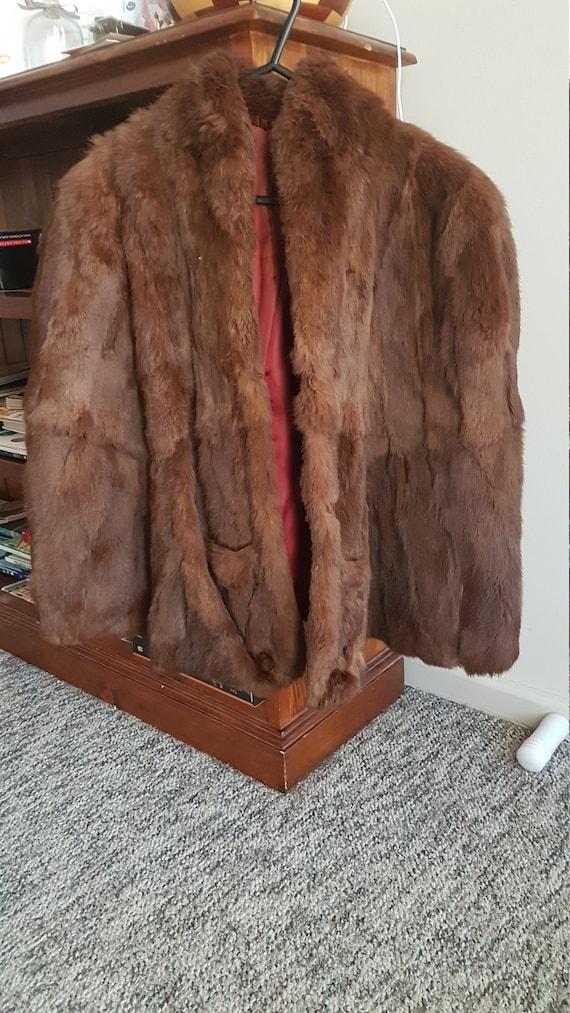 1960's Vintage Fur Coat
