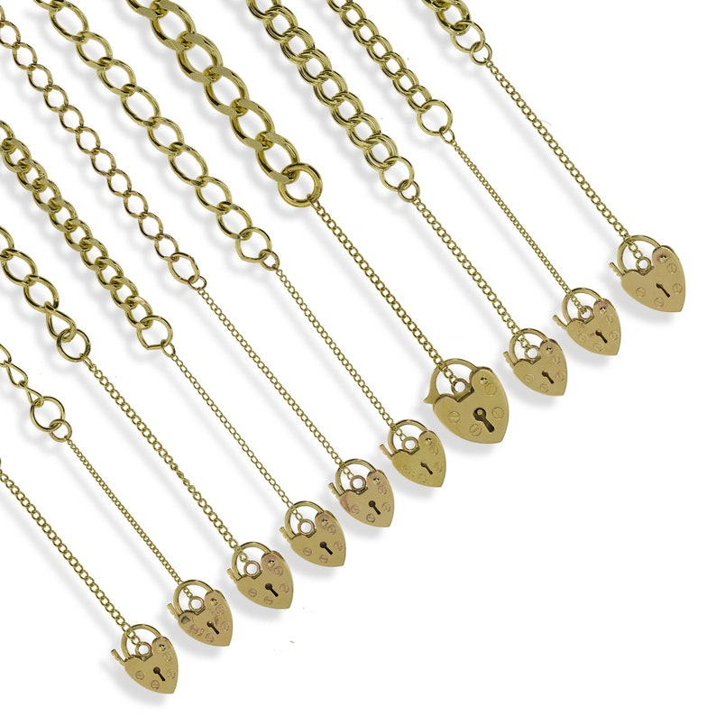 9CT YELLOW SOLID GOLD DIAMOND CUT D//C CURB LINK CHAIN PENDANT NECKLACE GIFT BOX