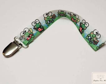 Tetinne Ribbon ties - frog print