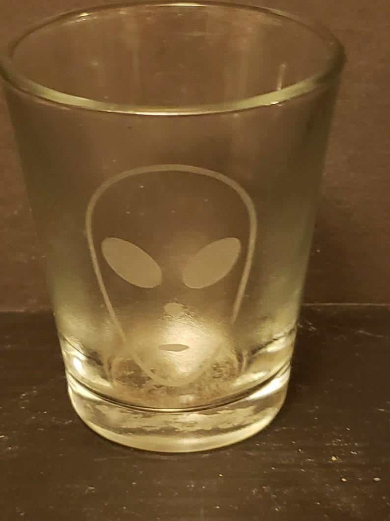 Alien Shot Glass   1.5 oz. image 0