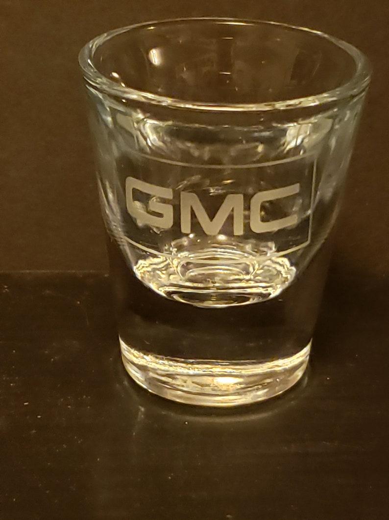 GMC Heavy weight 1.5 oz. shot glass image 0