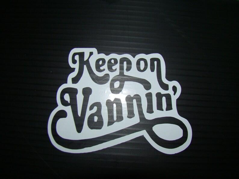 Keep on Vanning Logo image 0