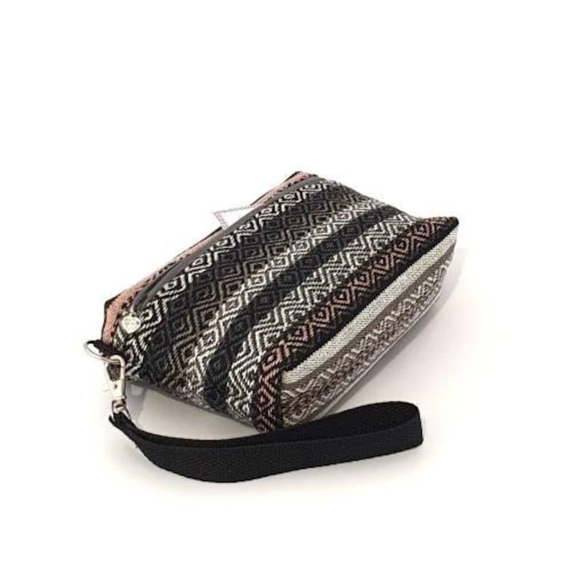 Wristlet pouch Small zipper pouch Small zipper wallet phone pouch