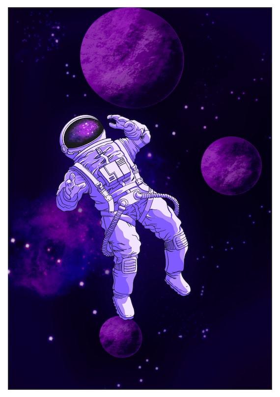 Nasa Wall Decor Space Art Universe Modern Art Astronomy Etsy